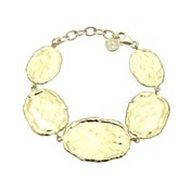 BRACELET SILVER WITH GOLD PLATED DURAN EXQUSE 00506857