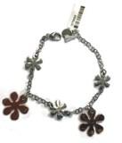 Fleurs de bracelet en argent sterling 1070022 Aquaforte