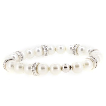 BRACELET SILVER AND PEARLS Stradda 53P16P