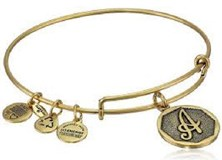BRACELET PLUMÉ ALEX ET ANI ÉNERGIE POSITIVE À GOLDEN Alex And Ani A DORADA