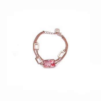 BRACELET PINK AND CRYSTAL SRA FASHION VICEROY 3134P19019