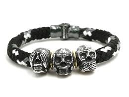 Pulsera Himnum Skulls 1SKU010BB