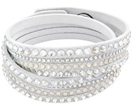 BRACELET SWAROVSKI TWO TURNS IN WHITE COLOR 5120520