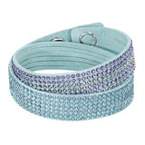 BRACELET SWAROVSKI OF TWO LAPS IN THE TURQUOISE 5202466