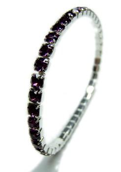 Rivière SWAROVSKI bracelet SWA-cristal-Amatista