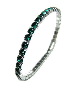 Rivière SWAROVSKI bracelet SWA-cristal-BLUE ZIRCON