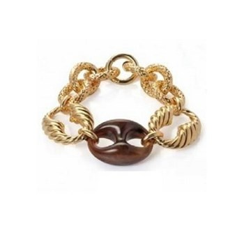 VICEROY BRACELET PLATED GOLD AND ACETATE B1023P000-06