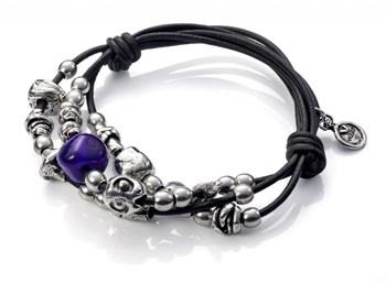 Murano et bracelet viceroy peau 1006P19011