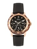 WATCH COPPER AND BLACK 158582 LOTUS