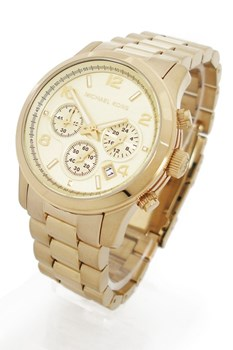 MICHEL KORS MK5055 GOLD PVD WATCH Michael Kors