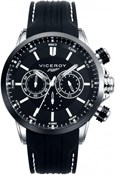 WATCH VICEROY CHRONOGRAPH RUBBER STEEL MAN 47823-57