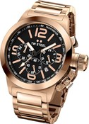 MONTRE 40MM CANTINE CHRONO EN OR ROSE. TW STEEL TW307