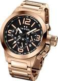 WATCH 40MM CANTEEN CHRONO ROSE GOLD. TW STEEL TW307