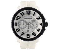 Reloj 50 mm blanco i negro 02046017 Tendence