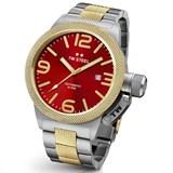 Reloj 50MM CANTEEN BICOLOR AUTOMATICO ROJO. TW Steel CB76