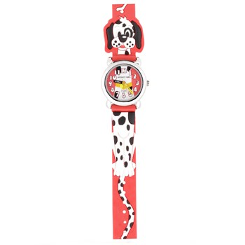 Montre rouge Dalmatien JF1201 Jacques Farel