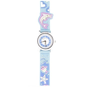 Montre enfant poisson  JF1207 Jacques Farel