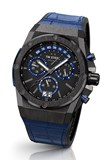 WATCH ACE GENESIS BLACK PVD STRAP BLUE. TW STEEL ACE105