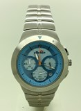 WATCH STEEL CARTIER CHRONO 03-0339-004 Ellesse