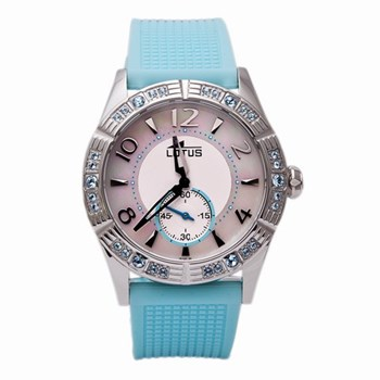 LOTUS WOMEN STEEL WATCH RUBBER 15737-4