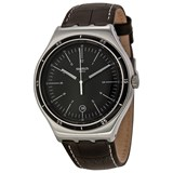 SWATCH YWS400 BROWN STEEL WATCH