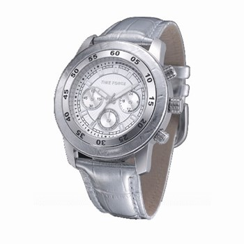 WATCH STEEL AND STRAP SILVER TF4005L15 TIME FORCE