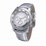 Reloj acero y correa plateada tf4005l15 Time Force