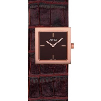 MS. ALFEX WATCH GOLDEN BROWN 5604.636