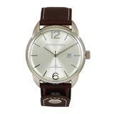WATCH ANALOG MENS DEVOTA & LOMBA DL009M-01BRWHITE Devota & Lomba