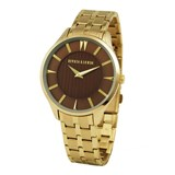 WATCH ANALOG MENS DEVOTA & LOMBA DL012M-02BROWN Devota & Lomba