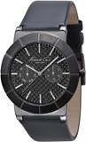 WATCH ANALOG/DIGITAL MAN. QUARTZ MOVEMENT. BOX . LEATHER STRAP/RUBBER . DIAL COLOR: BLACK. GLASS . SUBMERSIBLE: NO. DIMENSIONS: 47MM Kenneth cole IKC1929