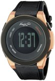 WATCH ANALOG/DIGITAL MAN. QUARTZ MOVEMENT. BOX . LEATHER STRAP/RUBBER . DIAL COLOR: BLACK. GLASS . SUBMERSIBLE: NO. DIMENSIONS: 47MM Kenneth cole 10022939