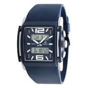 Reloj analogico/digital Marea cuadrado azul b35234
