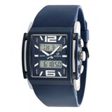WATCH ANALOGUE/DIGITAL TIDE SQUARE BLUE B35234 Marea