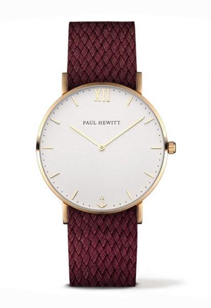 Reloj ancla Paul Hewitt burdeos 11236 PH-SA-G-Sm-W-19S