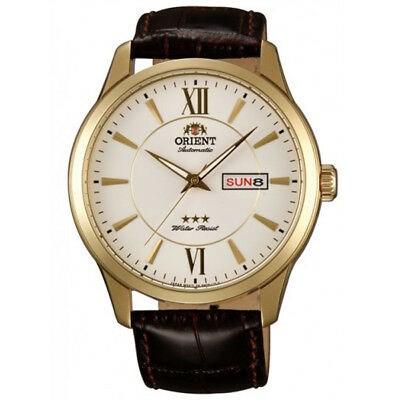 Reloj automatico correa chapado orient 147-fem7p005w9