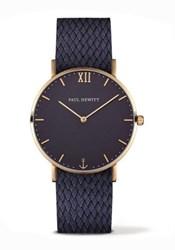 Reloj azul Paul Hewitt caja dorada 11245 PH-SA-G-St-B-17M