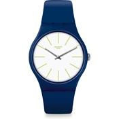 WATCH BLUE AND GREEN SUON127 SWATCH