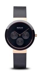 Reloj Bering negro rosado 35036-166 11120