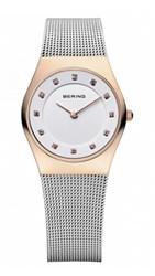 Reloj Bering rosado pequeño 12924-064 11189