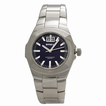 Breil steel watch with calendar 2519380785