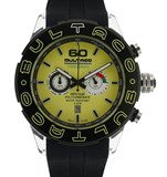 WATCH BULTACO HERITAGE YELLOW P48CX-05