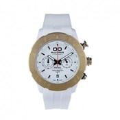 Bultaco Heritage white Polycarbonate watch crono P43CX-01