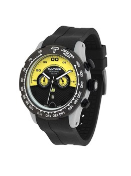 Reloj Bultaco MK1 Composite 48 Chrono Grey Yellow H1PA48C-SY1