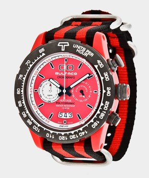 Reloj Bultaco MK1 Polyceramic 43 Chrono Red -T5 H1PR43C-CR1-T5