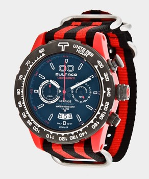 Reloj Bultaco MK1 Polyceramic 43 Chrono Red Black -T5 H1PR43C-CB1-T5