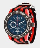 WATCH BULTACO MK1 POLYCERAMIC 43 CHRONO RED BLACK - H1PR43C-CB1-T5 T5