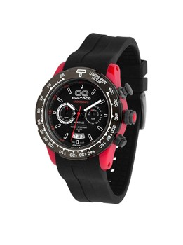 WATCH BULTACO MK1 POLYCERAMIC 43 CHRONO RED BLACK H1PR43C-CB1