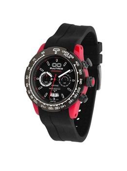 Reloj Bultaco MK1 Polyceramic 43 Chrono Red Black H1PR43C-CB1