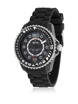 Bultaco Speedcity 45 automatique Watch noir BLPB45A-CB1